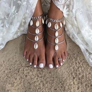 Jewelry - Pretty Shell Tassels Foot-chain